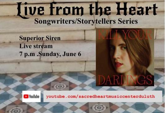 Songwriters/Storytellers Series: Superior Siren (Live stream)